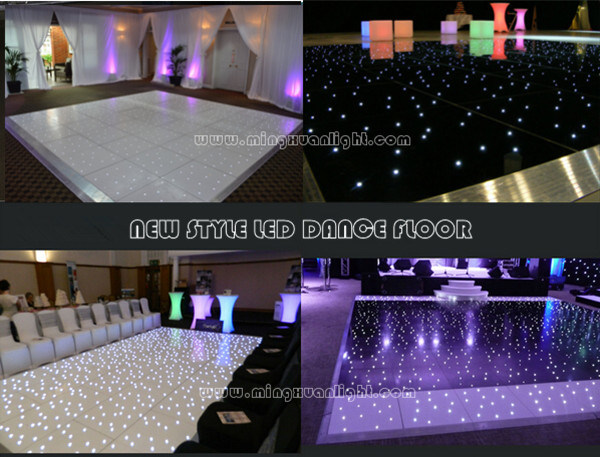 LED Starlit Effect Dance Floor Wholesale White Dance Floor