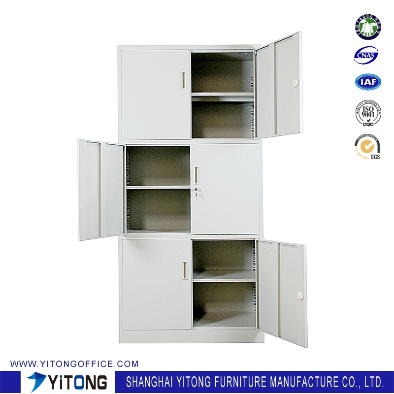Yitong 6-Door Metal Storage Cabinet / Office Use Steel File Cabinet