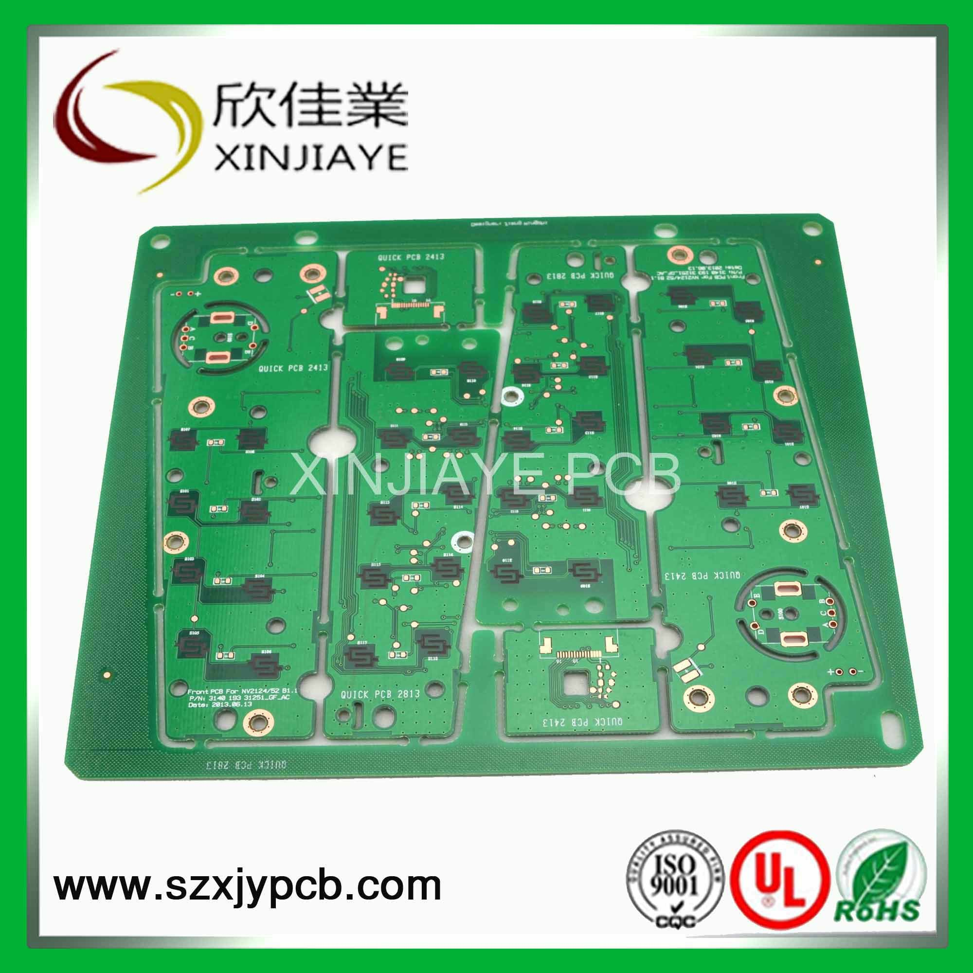 China Blank Pcb Boards With Green Solder Mask Service For Circuit Silkscreen