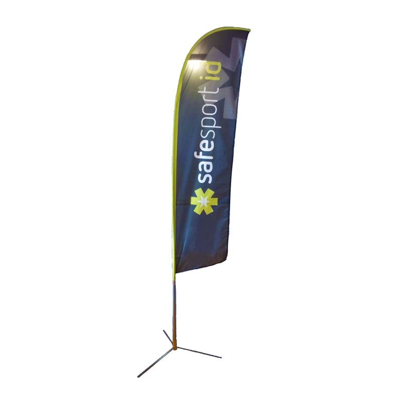 Outdoor Advertising Street Pole Flag Banner pictures & photos