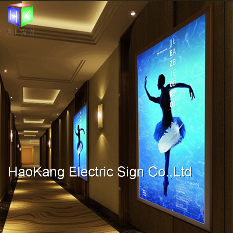 China LED Snap Backlit Poster Frame Advertising for Wall Office ...