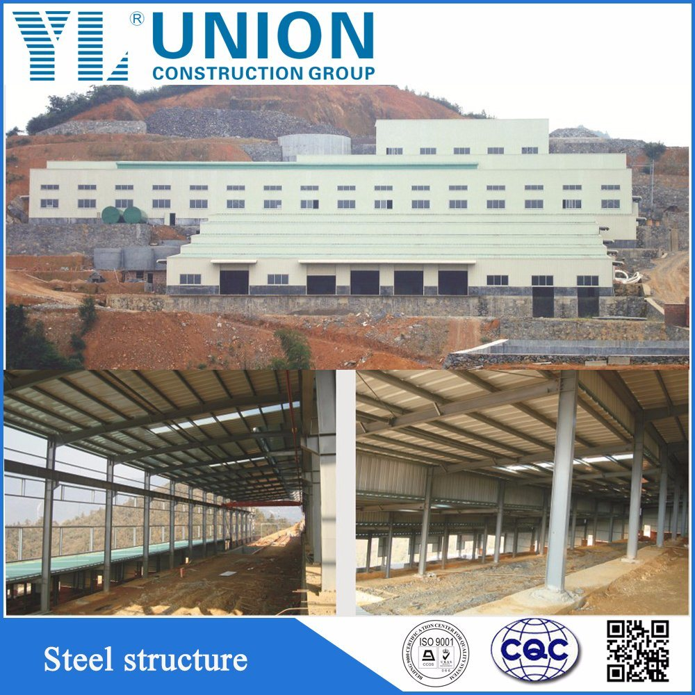 Steel Work Poultry Shed with Steel Frame China Supplier - China ...