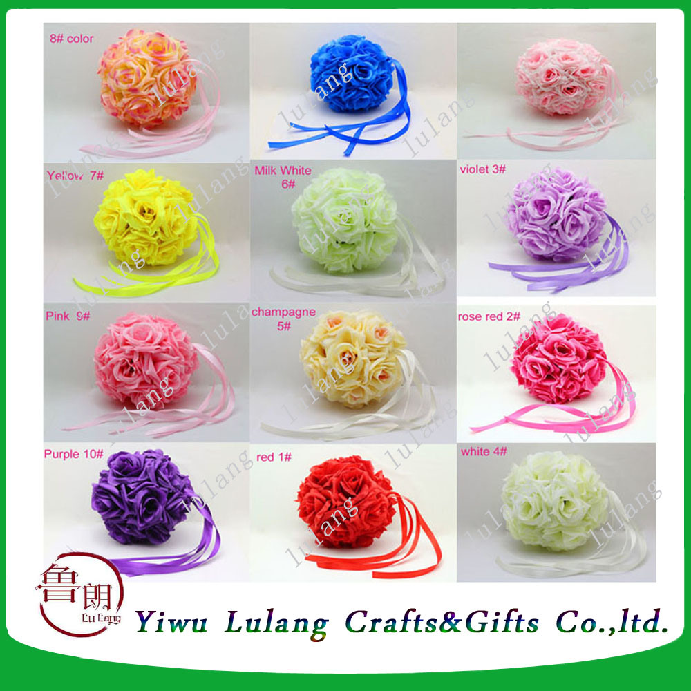China Wedding Decorations Champing Artificial Foam Flowers Rose Ball ...