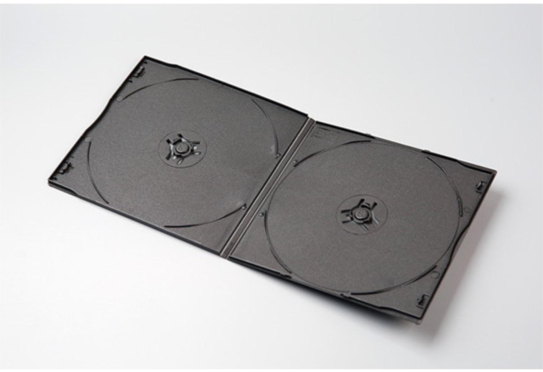China CD DVD Box CD DVD Case CD DVD Cover 7mm Short Double Black - China DVD Box, DVD Case