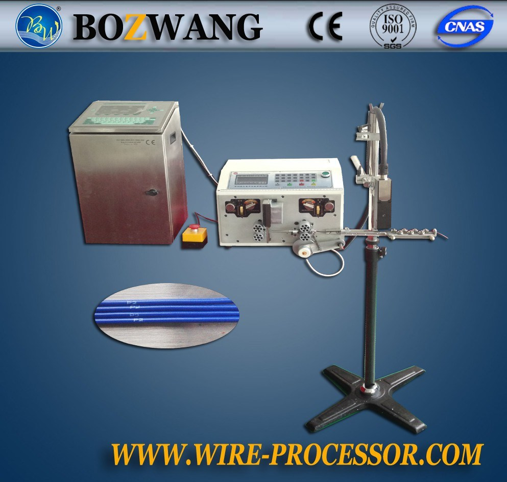 China Fully Automatic Wire Marking, Cutting and Stripping Machine ...