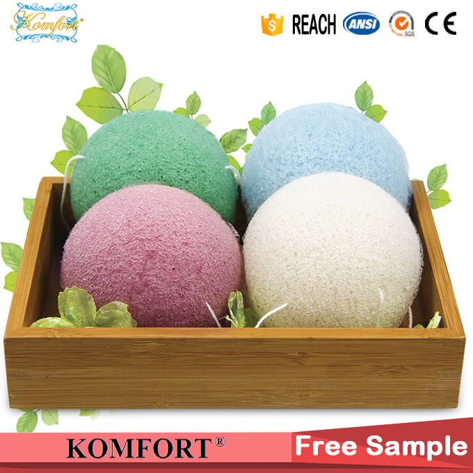 Bath Puff Beauty Product Soap Sea Natural Konjac Facial Sponge pictures & photos