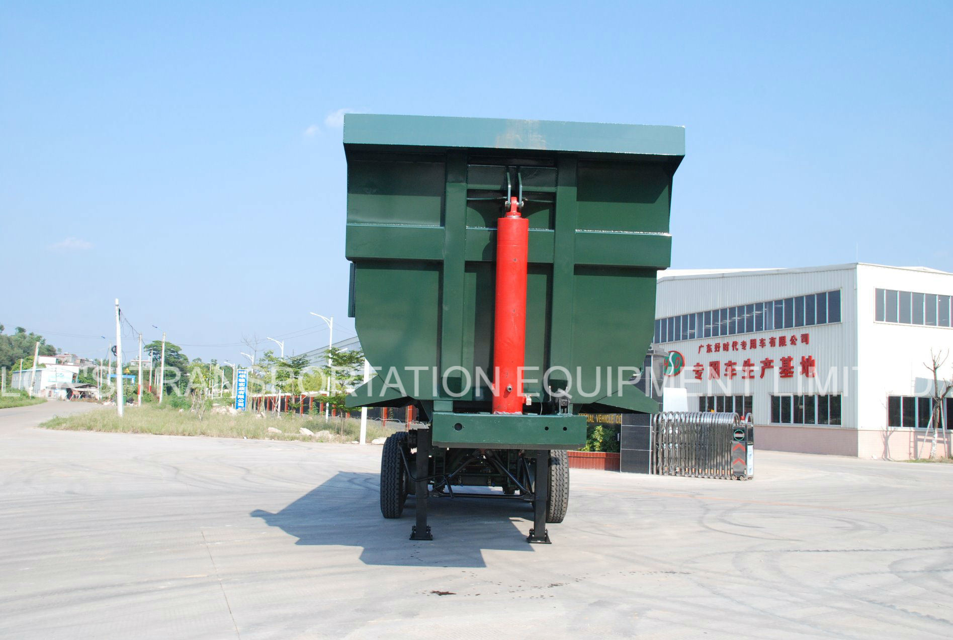Tipper Semi-Trailer 3 Axle 24 Cbm U-Style pictures & photos
