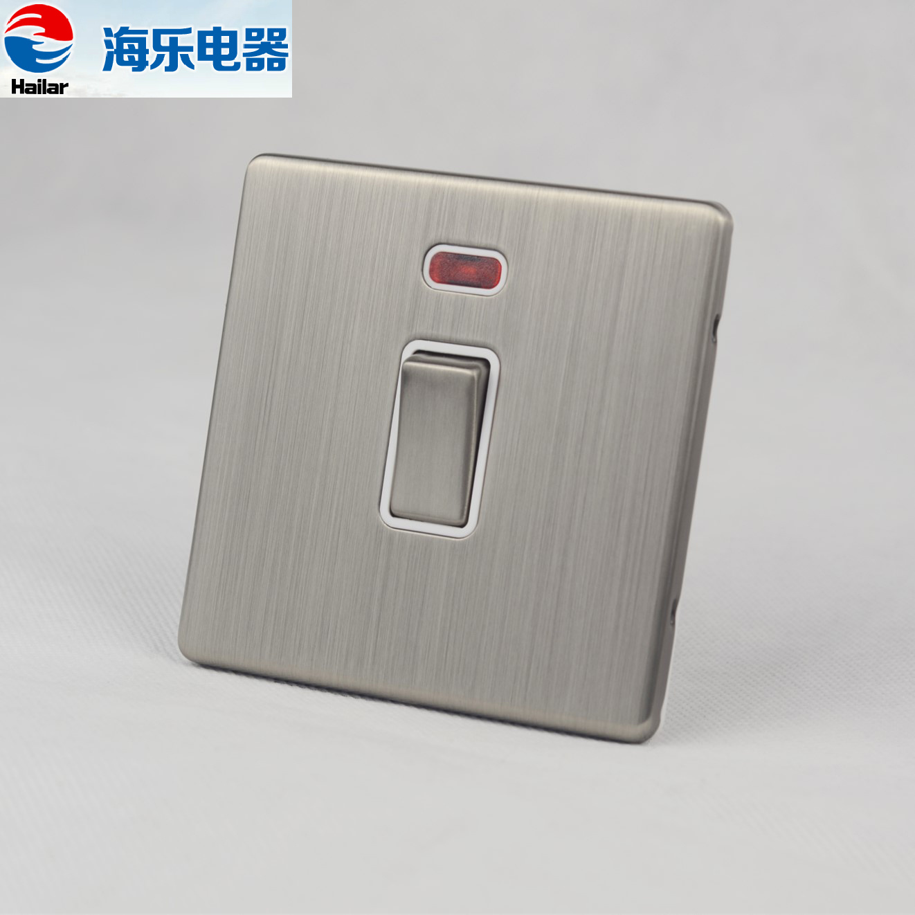 China 20a 1 Gang Double Pole Water Heater Switch With Light Switches Uk