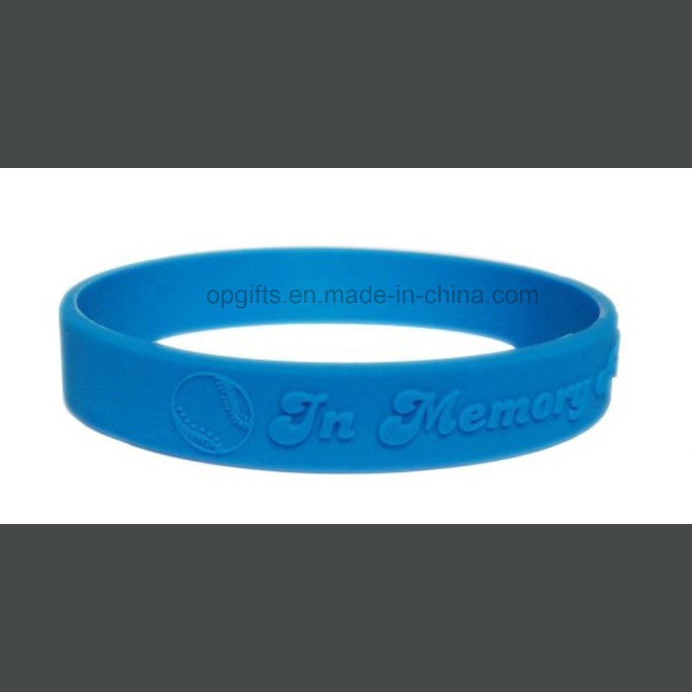 Promotional Gifts Custom Printed Silicone Wristband/Bracelet pictures & photos