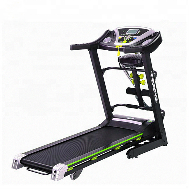 Folded Fitness Gym Equipment Body Building Electric Motorized Treadmill pictures & photos