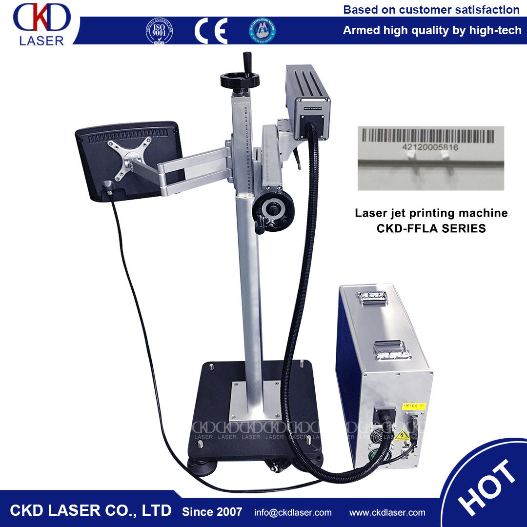 Flying Laser Marking Machine for Production Line
