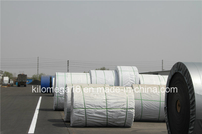 Black Green White PVC/PU Conveyor Belt Manufacturers Rubber Steel Cord Conveyor Belt pictures & photos