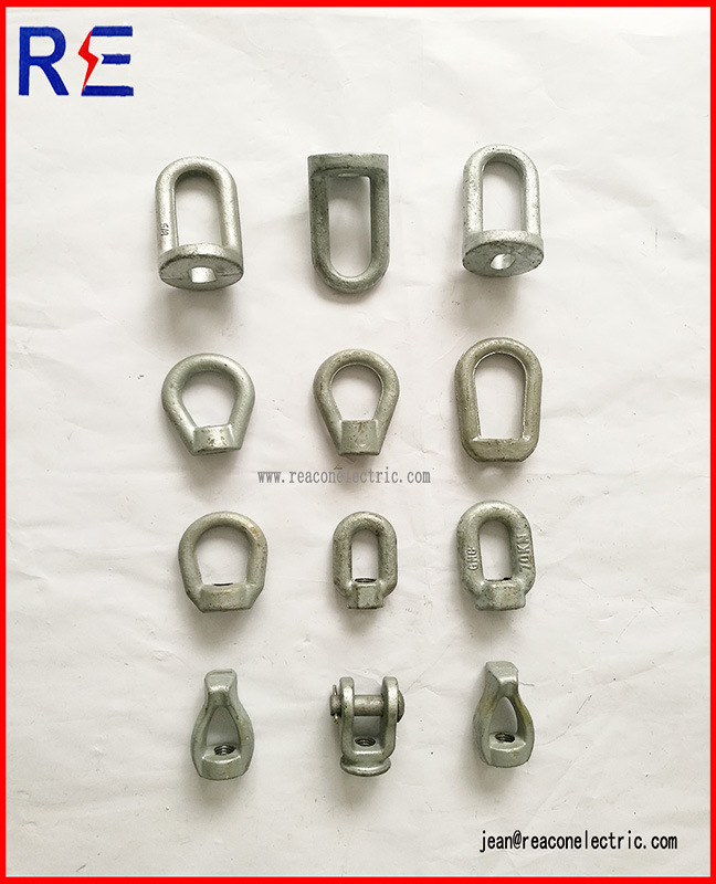 Oval Eye Nut Pole Line Hardware