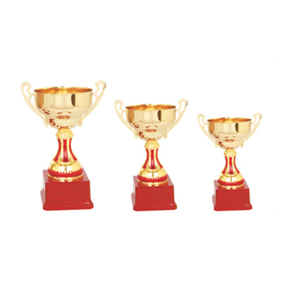 Metal Cup Trophy with Different Sizes