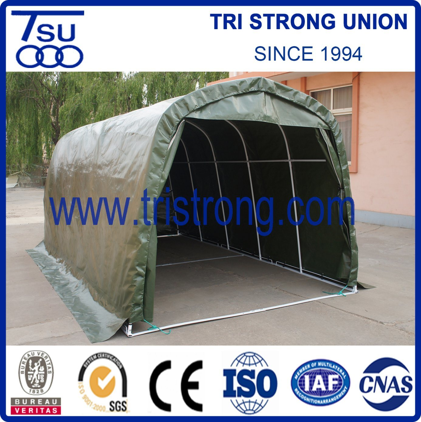 Single Car Carport With Shed 2021