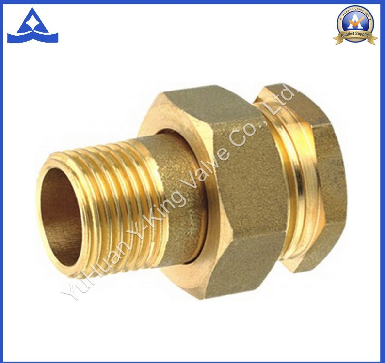 High Brass Forging Full Coupling (YD-6015)
