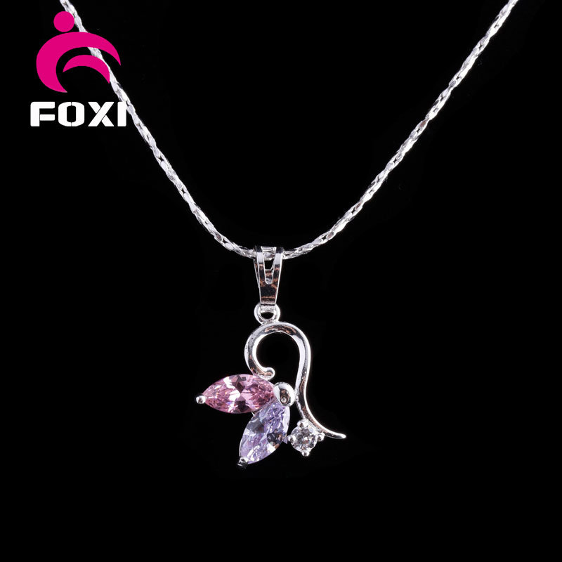 China New Fashion Silver Simple Design Gold Pendant for Girls ...