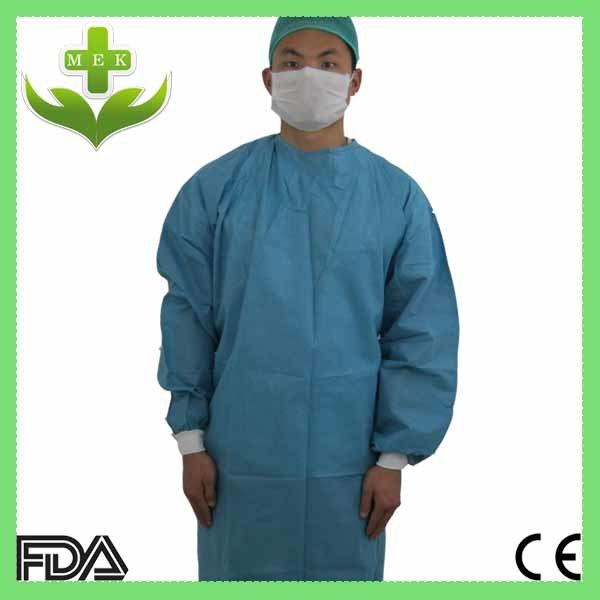 China Xiantao Hubei MEK SMS Surgical Gown Photos & Pictures - Made ...