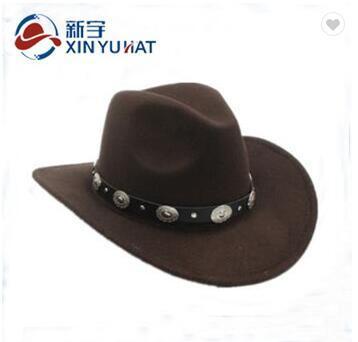 a11715780b2f4 China Wholesale Wool Felt Cowboy Hats - China Wool Felt Hat