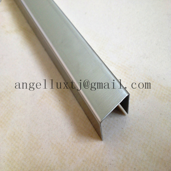China 304 Stainless Steel Wall Trim Edge Ceramic Tile Trim China