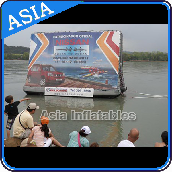 Promotion Inflatable Floating Billboard Inflatable Floating Billboard for Sale