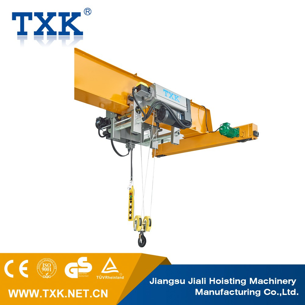 Electric Hoist 4  2 Rope Reeving With Chinese Gearmoto