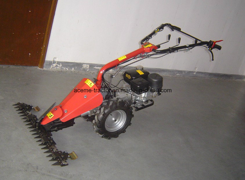 Gasoline 6.5HP Loncin Scythe Mower with 97cm Cutter pictures & photos
