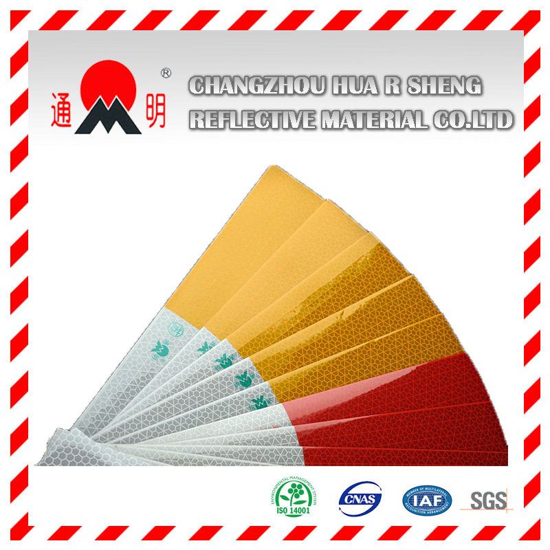 Advertisement Grade Reflective Sheeting Film for Car Body Sign (TM1600) pictures & photos