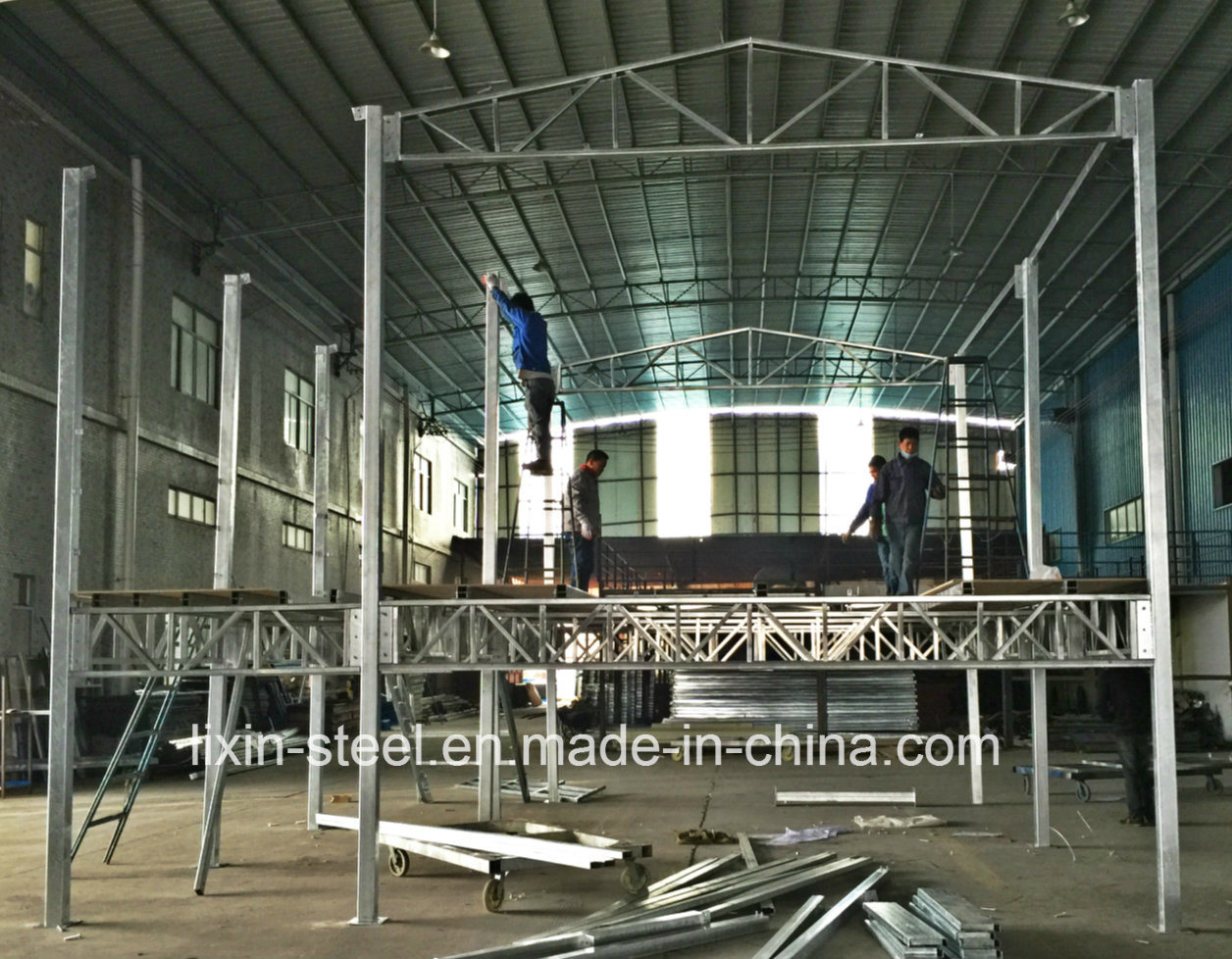 Excellent Hot Item Hot Dip Galvanized Square Tube Steel Frame Modular House Building Beutiful Home Inspiration Truamahrainfo