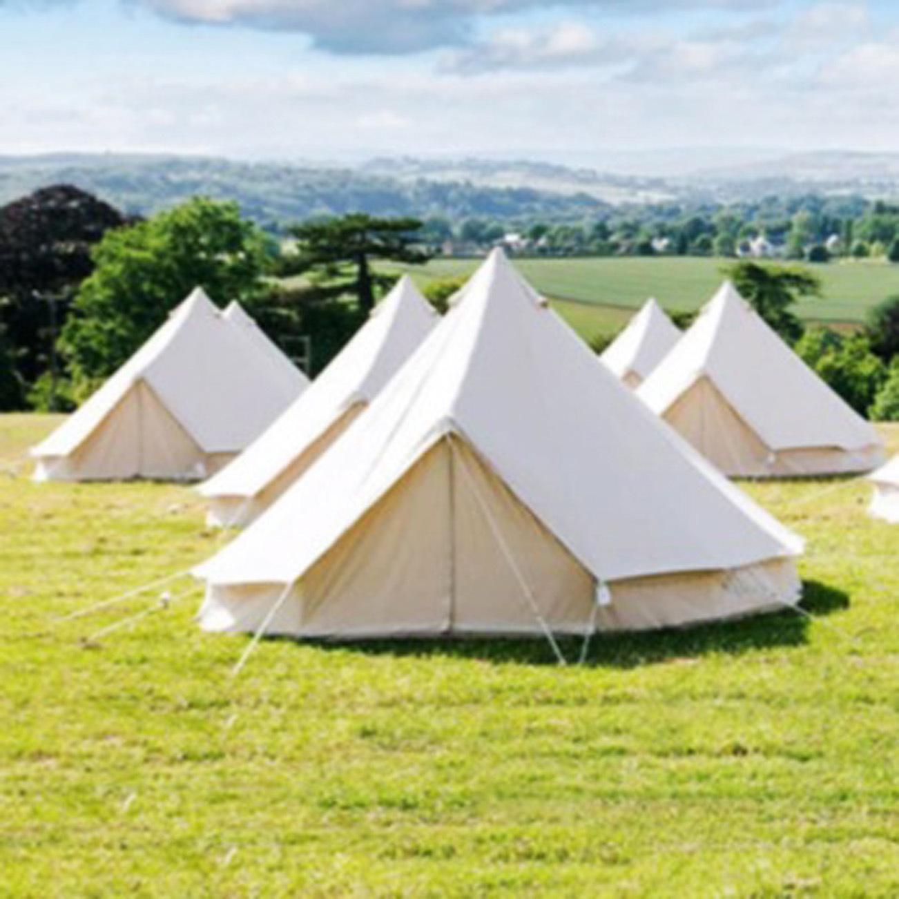 best website 64ca6 95c5f [Hot Item] Waterproof Outdoor Camping Bell Tent Teepee Yurt Glamping Tent