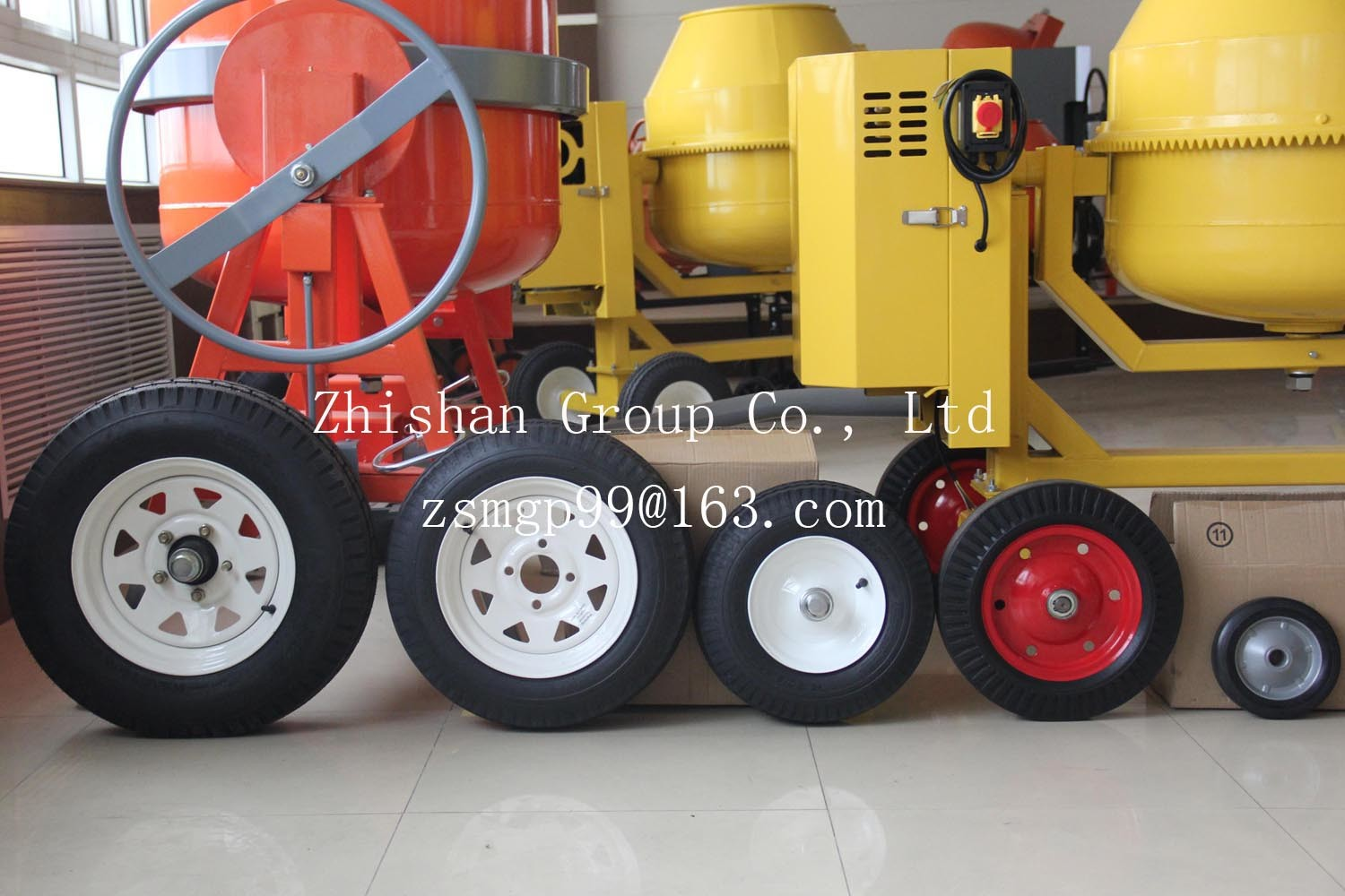 4.80-12 Tubeless Pneumatic Rubber Wheel pictures & photos