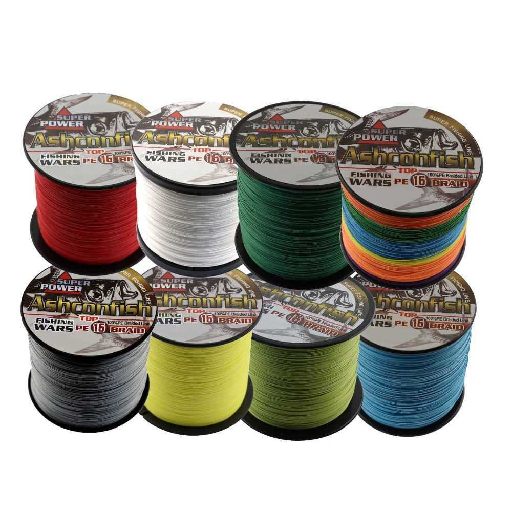 Ashconfish Super Strong Braided Fishing Line-4 Strands Fishing Wire 300M//328Yards Fishing String-Abrasion Resistant Incredible Superline Zero Stretch Small Diameter