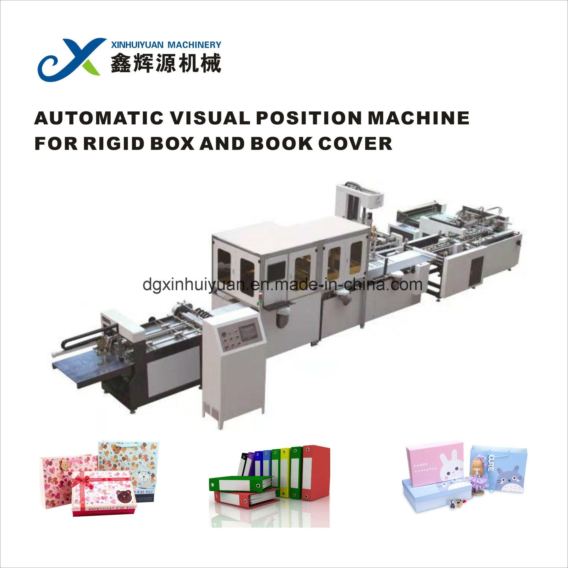 China Xy 400t Hard Cover And Rigid Box Visual Positioning Machine