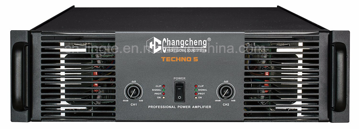 Techno Series Class H DJ Professional Power Amplifiers pictures & photos