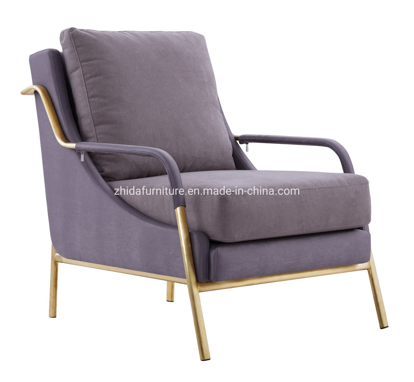 Phenomenal Hot Item Modern Furniture Gold Frame Hotel Lobby Bedroom Fabric Chair Machost Co Dining Chair Design Ideas Machostcouk