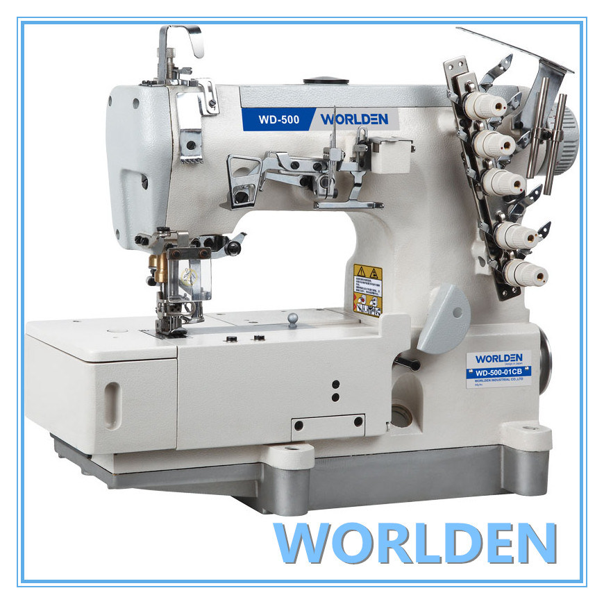 Wd-500-01CB High Speed Flat-Bed Interlock Sewing Machine