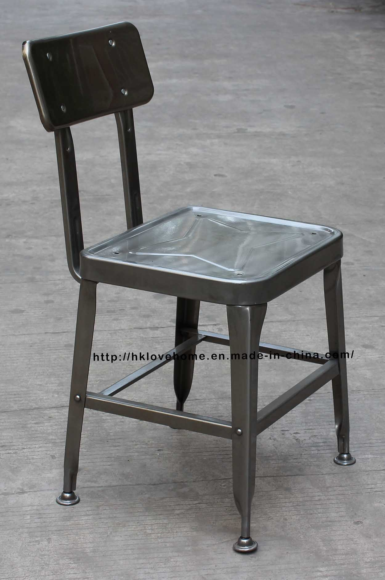 China Replica Metal Industrial Restaurant Furniture Lyon Dining