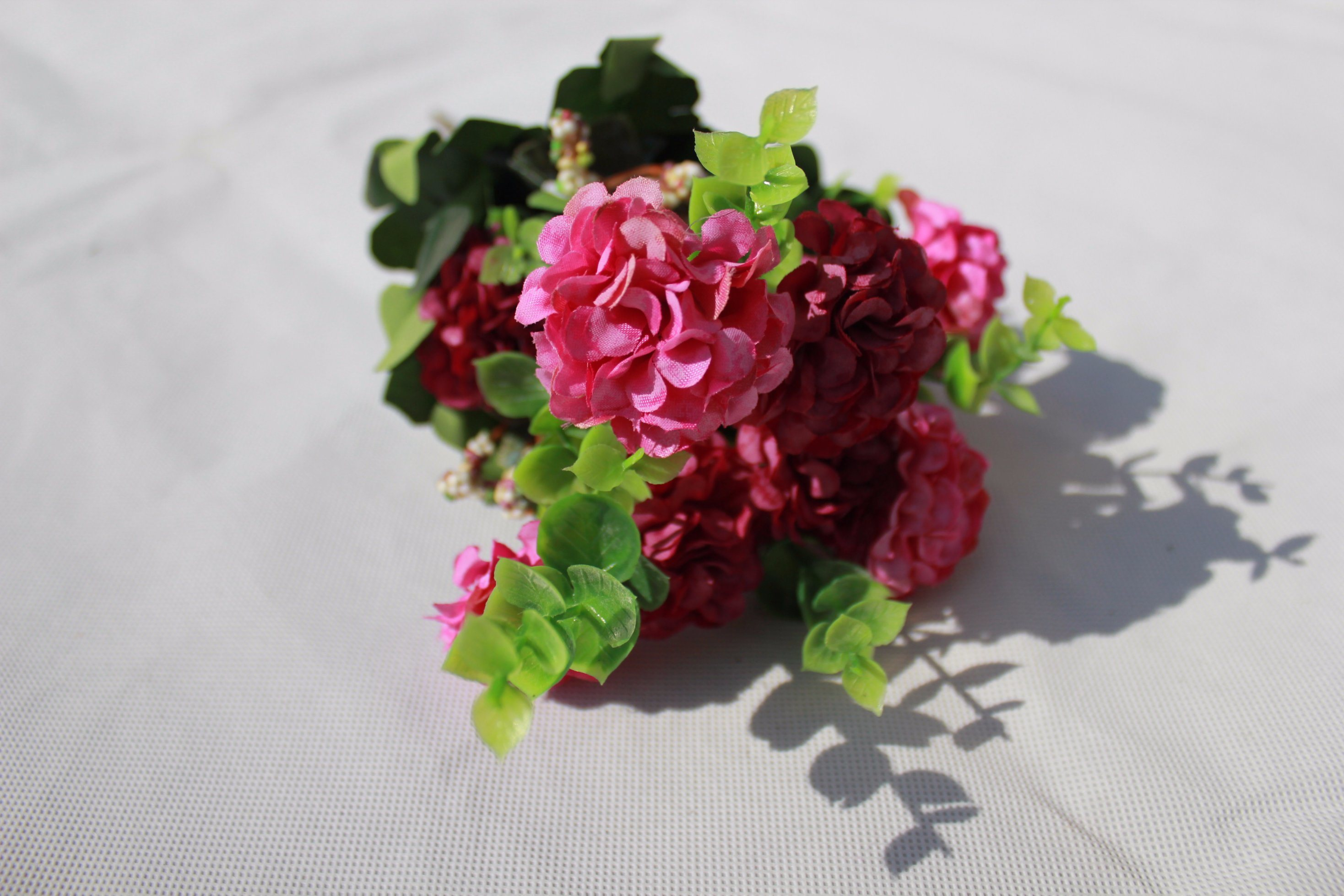 China Fake Hydrangea Silk Artificial Flowers For Home Wedding