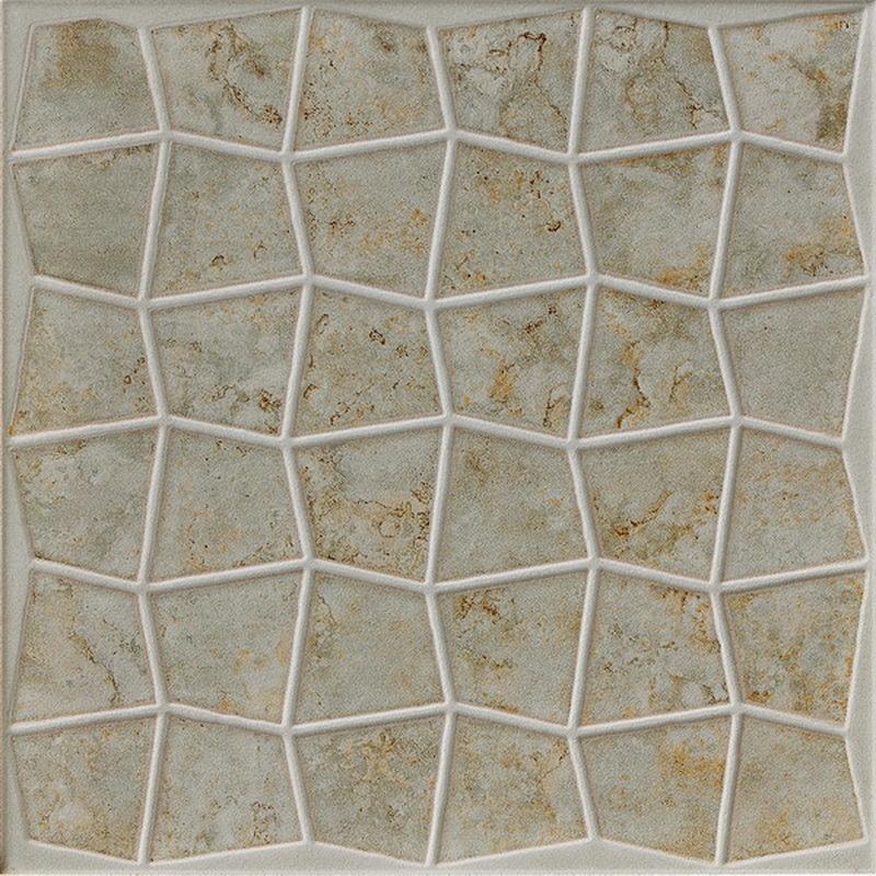 China 300x300mm Matt Rustic Glazed Ceramic Bathroom Stone Floor Tile