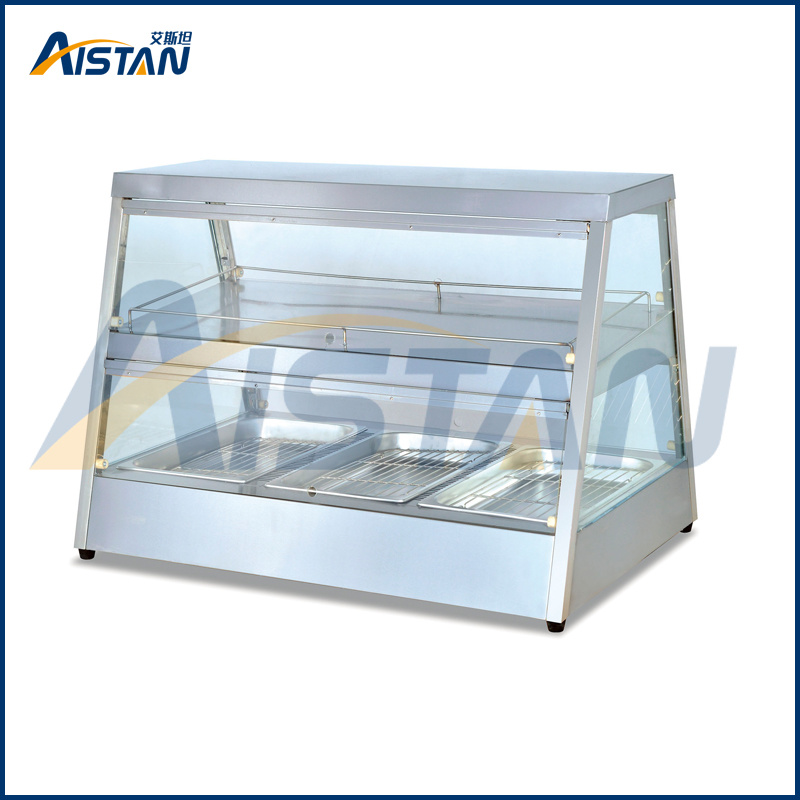 Dh22 Restaurant Kitchen Equipment 22 Layers Mobile Electric Food Warmer Cart