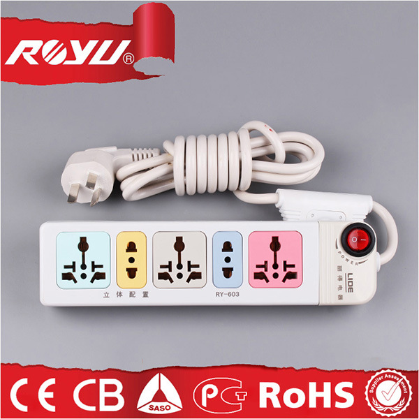 Wholesale Safe Rechargeable Universal Power Electric Extension Cords