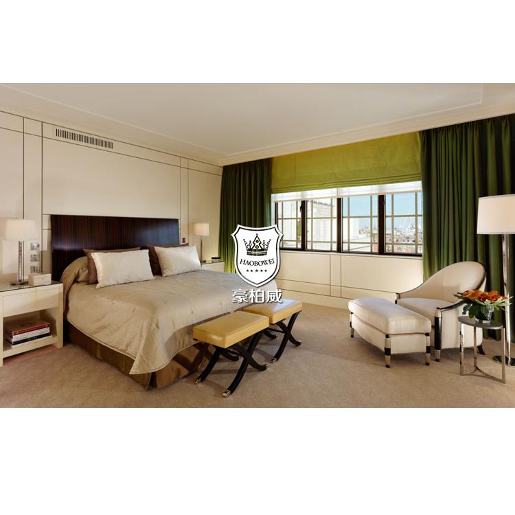 Modern Hotel Rosewood Furniture Turkey Bedroom Set