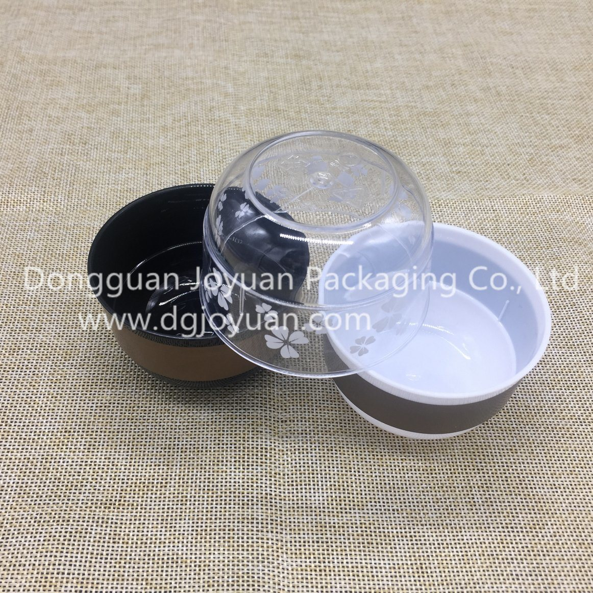 Plastic Cup Bowl Shape Cup for Mousse, Yogurt