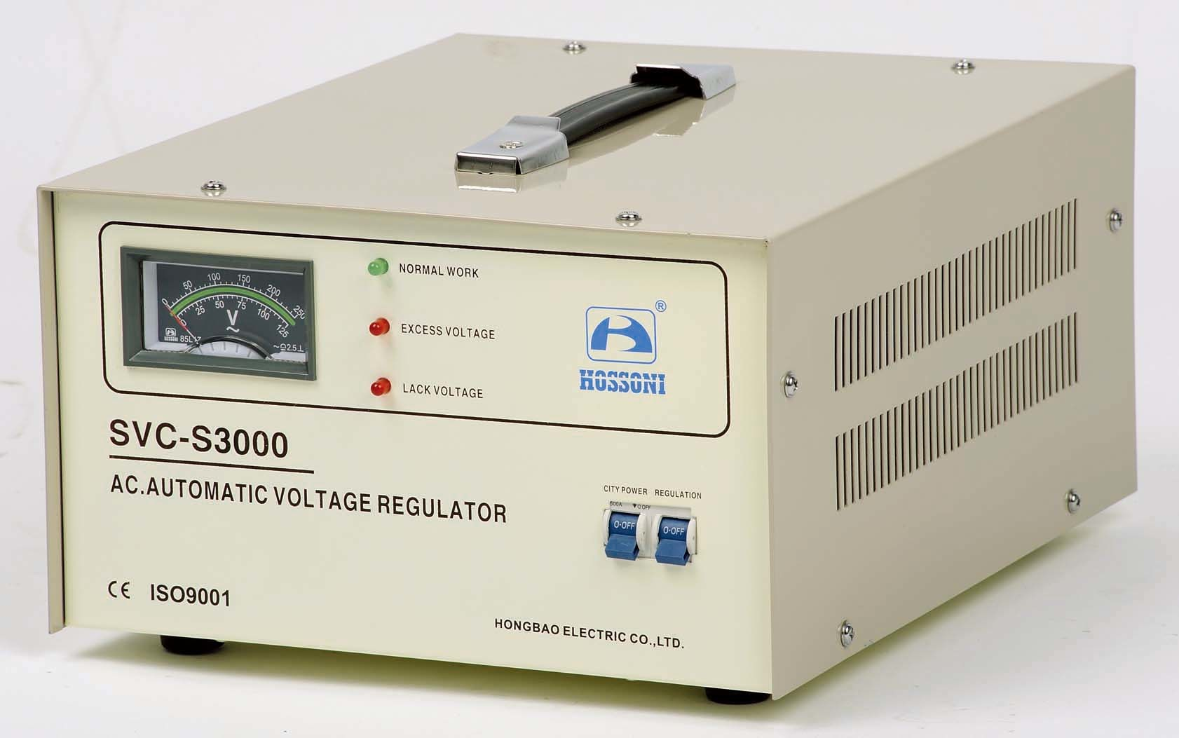 China Svc S Super Thin Type Voltage Stabilizer Avr 3k Of Automatic Control And Regulation Its Input