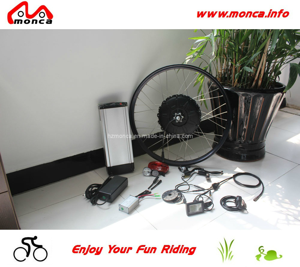E Bike Conversion Kits with 500W Motor and 48V Lithium Battery