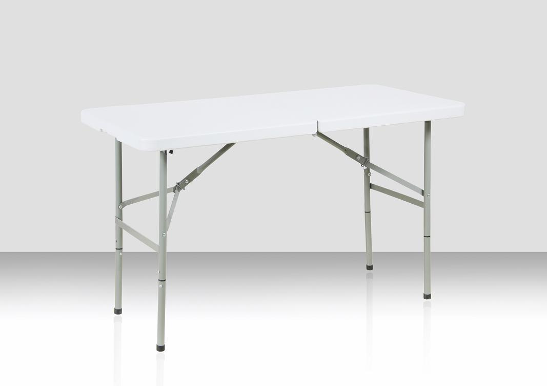 China 4 Foot Rectangular Fold In Half Table (SY 122Z)   China Folding Table,  Folding Chair