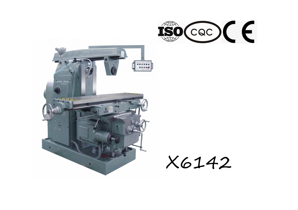 X6142 Universal Knee-Type Milling Machine
