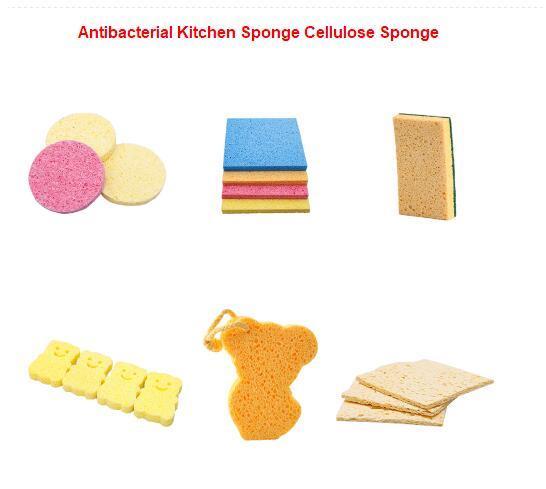 Antibacterial Kitchen Sponges