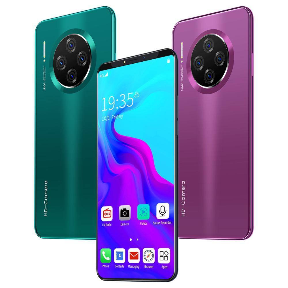 China Mate33 Pro Smartphone 6 1 Inch 10 Cores Mobile Phone Android Os 9 1 China Phone And Mate 33 Pro Price