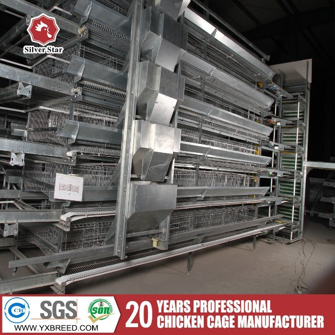 Poultry Farm Equipment Galvanized Layer Chicken Cages Factory